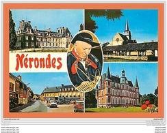 A439/415 18 - NERONDES ( Automobile - Voiture ) Multivues - France