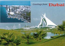 1 AK Dubai United Arab Emirates * Dubai Creek Golf & Yacht Club And Birds Eye Of Dubai Creek - Ver. Arabische Emirate - Dubai