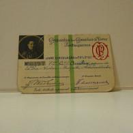 Passe - Season Ticket - Esposa Do Senador Nicolau Mesquita - 1926 - Compª Dos Caminhos De Ferro Portuguezes - Week-en Maandabonnementen