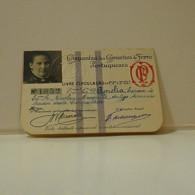 Passe - Season Ticket - Esposa Do Senador Nicolau Mesquita - 1927 - Compª Dos Caminhos De Ferro Portuguezes - Europe