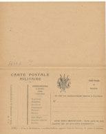 FM  75  / FRANCHISE MILITAIRE   CARTE POSTALE MILITAIREE - Franchise Stamps