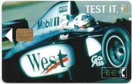 Spain - Telefónica - West Tobacco Formula 1 - CP-241 - 03.2002, 6€, 26.200ex, Used - España