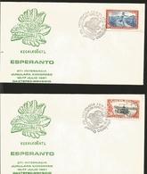 J) 1981 MEXICO, 37A OAXTEPEX-MEXICO JUNULAR INTERNATIONAL KONGRESSO, IMMEDIATE DELIVERY, SET OF 2 FDC - Mexico