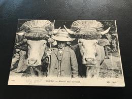 109 - BOURG Marché Aux Bestiaux - 1919 Timbrée - Bourg-en-Bresse