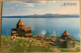 1 Ansichtskarte Armenien  Gegharkunik  Kloster Monastery Sevanavank IX C On Sewansee Near Sewan - Armenia