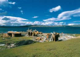 1 AK TAAF Kerguelen * Port Jeanne D'Arc - Old Whaling Station - Terres Australes Et Antarctiques Françaises * - TAAF : French Southern And Antarctic Lands