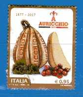 Italia ° -  2017 - AURICCHIO .  Usato  .    Vedi Descrizione - 6. 1946-.. República