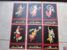 Folder Originale Serie LE ORE Raffaello Editore SBROGI Firenze N.12 Cartoline Differenti - Pittura & Quadri