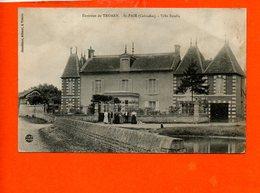 14 Saint Pair - Villa Estella (carte Décollée) - France
