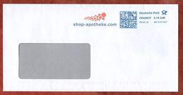 Brief, FRANKIT Pitney Bowes 4D131.., Shop-apotheke, 70 C, 2018 (75985) - [7] République Fédérale