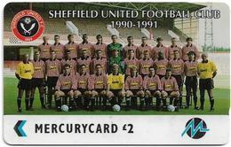 UK (Paytelco) - Football Clubs - Sheffield United Team Photo - 2PFLF, 12.151ex, Used - Reino Unido