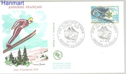 French Andorra 1976 Mi 272 FDC ( FDC ZE1 ANF272 ) - Francobolli