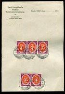 Deutsches Reich / 1920 / Mi. 110 5x A. Briefpapier Der Nationalversammlung, Berlin (19016) - Allemagne