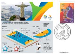 DZ Algeria 1747 Olympics Games Rio Brazil 2016 Jeux Olympiques Brésil Handball - Handball