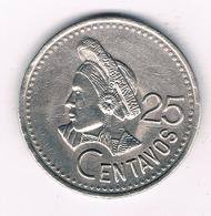 25 CENTAVOS 1991 GUATEMALA 5117/ - Guatemala