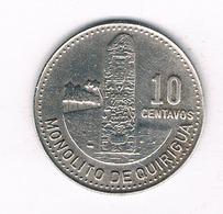 10 CENTAVOS 1983 GUATEMALA 5118/ - Guatemala