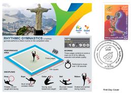DZ Algeria 1747 Olympics Games Rio Brazil 2016 Jeux Olympiques Brésil Gymnastics Gymnastik Gymnastique - Gymnastics
