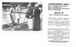 AM48 - IMAGE INFORMATOR - JEUX OLYMPIQUES DE LONDRES 1948 - JACK WILSON - RON LAURIE - Aviron