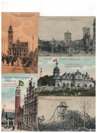 Brussel-Bruxelles 46 Oude Postkaarten EXPOSITION UNIVERSELLE 1910 - 5 - 99 Cartes