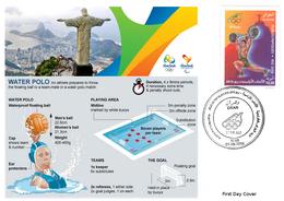 DZ Algeria 1747 Olympics Games Rio Brazil 2016 Jeux Olympiques Brésil Water Polo - Wasserball