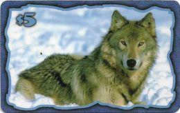 USA - KARIS Comm. - Gray Wolf, Remote Mem. 5$, Exp. 01.1999, 1.000ex, Mint - Etats-Unis