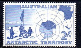APR91 - TAA ANTARTICO AUSTRALIANO 1957 , Yvert  N. 1 ***  MNH - Unused Stamps