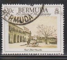 BERMUDA Scott # 556 Used - 100 Years Of Photography - Bermuda