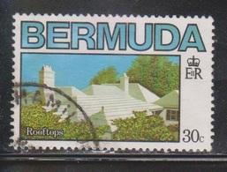 BERMUDA Scott # 462 Used - Architecture - Rooftops - Bermuda