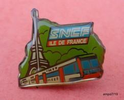 Pin's SNCF Ile De France - Transportation