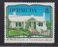 BERMUDA Scott # 577 Used - 50th Anniversary Of Bermuda Library - Bermuda