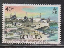 BERMUDA Scott # 525 Used - Airplane - Shorts S-23 Cavlier - Bermuda