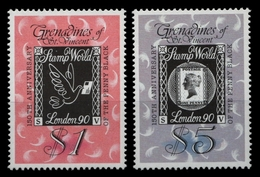 St. Vincent-Grenadinen 1990 - Mi-Nr. 700-701 ** - MNH - Penny Black - St.Vincent Und Die Grenadinen