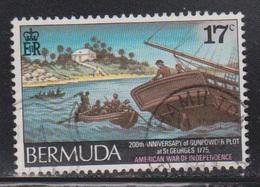 BERMUDA Scott # 330 Used - Gunpowder Plot At St George's - Bermuda