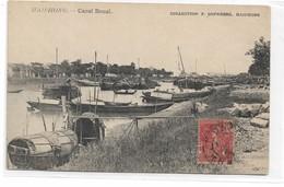 CARD VIETNAM HAIPHONG  CANAL BONAL  BARCHE DA PESCA -BARCHE  CASA-  -  -FP-V-2-0882-29148 - Vietnam