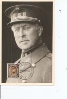 Belgique - Roi Albert I  ( CM De 1934 à Voir) - Maximumkarten (MC)