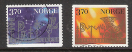 Norway Norge 1997 Christmas, Mi 1265-1266, Cancelled - Used Stamps