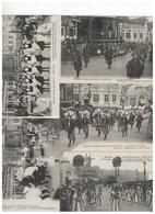 Elsene IXELLES - Cortège Des Saisons-Juillet 1910   5 Cartes - Ixelles - Elsene