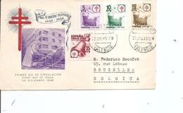 Espagne - Antituberculeux ( FDC De 1949 à Voir) - FDC