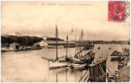 SAIGON - L'Arroyo Chinois Et Le Pont Tournant - Vietnam