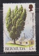 BERMUDA Scott # 299 Used - Plant A Tree - Olivewood Bark - Bermuda