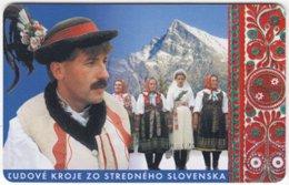 SLOVAKIA A-980 Chip Telekom - Traditional People - Used - Slovakia