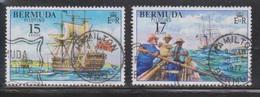 BERMUDA Scott # 356-7 Used - Piloting Ships - Bermuda