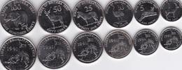 Eritrea - Set 6 Coins 1 5 10 25 50 100 Cents 1997 UNC Lemberg-Zp - Erythrée