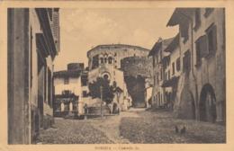 AK - GORIZIA - Strassenpartie Mit Castello 1912 - Zensurstempel - Italien