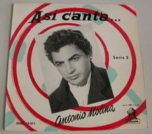 Antonio Molina 45t EP Adios A Espania (dsoe 16.011 Spain) EX EX - Dischi In Vinile