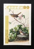 CANADA  2004 # 2040, LINCOLN' SPARROW, AUDUBONS'BIRDS MNH - Carnets