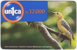 VENEZUELA A-744 Prepaid Un1ca - Animal, Bird - Used - Venezuela