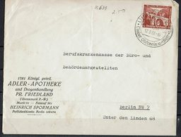 DR - Kuvert - 1937 - Big - Allemagne