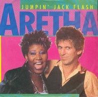 Areta Franklin 45t  Jumpin' Jack Flash EX NM - Rock