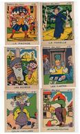 Histoire Des Jeux  Atelier Louis Chambrelent Paris 6 Cartes Nrs 7-12 (9,5x7,5 Cm) - Jeux Et Jouets